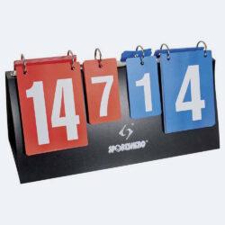 Προσφορά από το Cosmossport σε Sportshero  - Sportshero Πίνακας Μέτρησης Σκορ Volley (Διπλής Όψης) (3186200001_1469) - DealFinder.gr