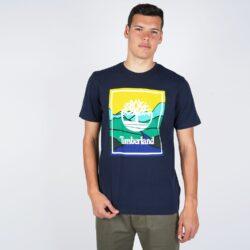 Προσφορά από το Cosmossport σε Timberland  - Timberland Men'S Short SLeeve Kennebec River Horizon Graphic Tee (9000050329_2801) - DealFinder.gr