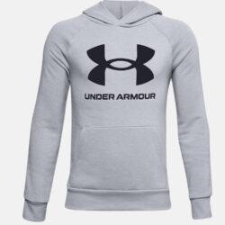 Προσφορά από το Cosmossport σε Under Armour  - Under Armour Rival Fleece Big Logo Παιδική Μπλούζα με Κουκούλα (9000057501_47119) - DealFinder.gr