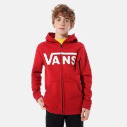 Προσφορά από το Cosmossport σε vans  - Vans Classic Παιδική Ζακέτα με Κουκούλα (9000071681_4204) - DealFinder.gr