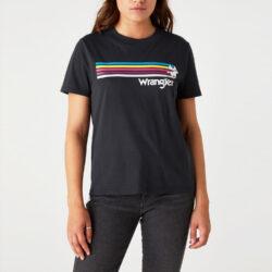 Προσφορά από το Cosmossport σε Wrangler  - Wrangler Γυναικείο T-Shirt (9000066748_1941) - DealFinder.gr