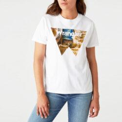 Προσφορά από το Cosmossport σε Wrangler  - Wrangler Γυναικείο T-Shirt (9000066747_1539) - DealFinder.gr