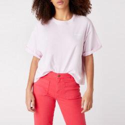 Προσφορά από το Cosmossport σε Wrangler  - Wrangler Summer Tee Lilac Ice Γυναικεία Μπλούζα (9000049992_44758) - DealFinder.gr