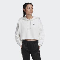 Προσφορά από το Cosmossport σε adidas Originals  - adidas Originals Cropped Γυναικεία Μπλούζα με Κουκούλα (9000058881_1539) - DealFinder.gr