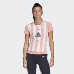Προσφορά από το Cosmossport σε adidas Performance  - adidas Performance Logo Stripe Women'S T-Shirt (9000045002_39533) - DealFinder.gr