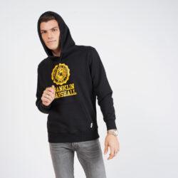 Προσφορά από το Cosmossport σε Franklin & Marshall  - Franklin & Marshall Brushed Fleece Cotton Ανδρική Μπλούζα με Κουκούλα (9000066854_1469) - DealFinder.gr