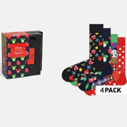 Προσφορά από το Cosmossport σε Happy Socks  - Happy Socks 4-Pack Disney Holiday Gift Set Γυναικείες Κάλτσες (9000065944_2074) - DealFinder.gr