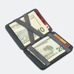 Προσφορά από το Cosmossport σε Hunterson  - Hunterson Magic Coin Wallet RFID - Δερμάτινο Πορτοφόλι (9000063541_1469) - DealFinder.gr