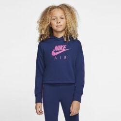 Προσφορά από το Cosmossport σε Nike  - Nike Air Kids' Cropped Hoodie (9000061415_48371) - DealFinder.gr