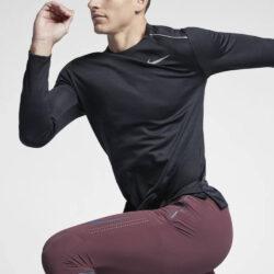 Προσφορά από το Cosmossport σε Nike  - Nike Dri-FIT Miler Ανδρική Μπλούζα με Μακρύ Μανίκι (9000025429_8598) - DealFinder.gr