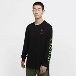 Προσφορά από το Cosmossport σε Nike  - Nike Sportswear Men's Long-Sleeve Ανδρικό Μπλουζάκι (9000055203_23785) - DealFinder.gr