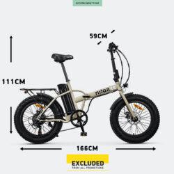 Προσφορά από το Cosmossport σε Nilox  - Nilox Doc E-Bike X8 Ηλεκτρικό Ποδήλατο (9000064906_1540) - DealFinder.gr