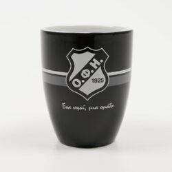 Προσφορά από το Cosmossport σε OFI OFFICIAL BRAND  - OFI F.C. Κωνική Κούπα Μαύρη, 375ml (9000053605_2691) - DealFinder.gr