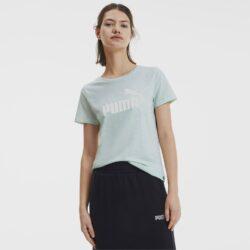 Προσφορά από το Cosmossport σε puma  - Puma Essentials+ Women's Heather Tee (9000047612_11767) - DealFinder.gr