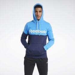 Προσφορά από το Cosmossport σε Reebok Sport  - Reebok Sport Training Essentials Logo Ανδρικό Φούτερ με Κουκούλα (9000058727_47438) - DealFinder.gr