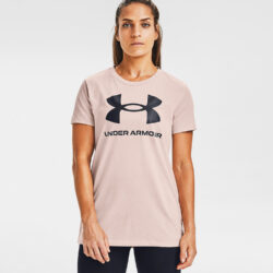 Προσφορά από το Cosmossport σε Under Armour  - Under Armour Live Sportstyle Graphic Γυναικεία Μπλούζα (9000057304_47080) - DealFinder.gr