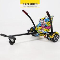 Προσφορά από το Cosmossport σε Urban Glide  - Urbanglide Hoverboard 65 Lite + Kart Pilot (9000064204_2074) - DealFinder.gr