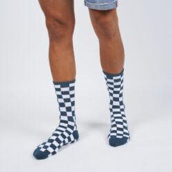 Προσφορά από το Cosmossport σε vans  - Vans Checkerboard Crew Men's Socks (9000048923_44514) - DealFinder.gr