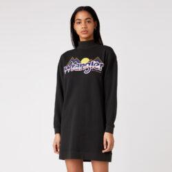 Προσφορά από το Cosmossport σε Wrangler  - Wrangler High Neck Γυναικείο Φόρεμα (9000066752_1941) - DealFinder.gr