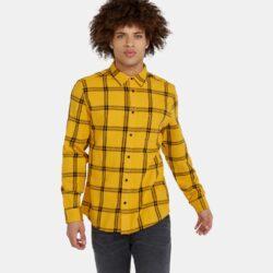 Προσφορά από το Cosmossport σε Wrangler  - Wrangler Ls 1Pkt Shirt Mineral Yellow (9000037345_6574) - DealFinder.gr