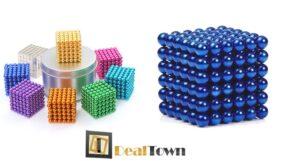 Προσφορά Deal από το Dealtown - 18.90€ σετ μαγνητικές μεταλλικές μπίλιες, με 216 ισχυρές μαγνητικές μπίλιες ανά σετ, σε χρυσαφί ή μπλε μεταλλικό χρώμα. Το τέλειο παιχνίδι για αμέτρητες ώρες διασκέδασης για εσάς και τα παιδιά σας!! Δωρεάν αποστολή των προϊόντων στην Αθήνα! - DealFinder.gr