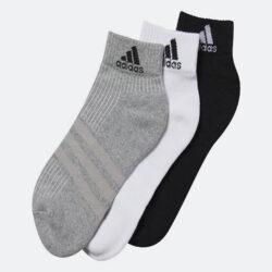 Προσφορά από το Cosmossport σε adidas Performance  - adidas Performance 3-Stripes Performance Ankle Socks 3 Pairs (3083800440_9324) - DealFinder.gr