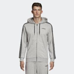 Προσφορά από το Cosmossport σε adidas Performance  - adidas Performance Essentials 3-Stripes Ανδρική Ζακέτα (9000027633_7748) - DealFinder.gr