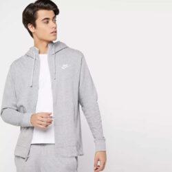 Προσφορά από το Cosmossport σε Nike  - Nike Sportswear Club Fleece Ανδρική Ζακέτα με Κουκούλα (9000066252_4400) - DealFinder.gr