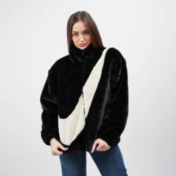 Προσφορά από το Cosmossport σε Nike  - Nike Sportswear Faux Fur Γυναικεία Ζακέτα (9000056480_46854) - DealFinder.gr