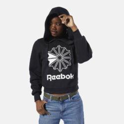 Προσφορά από το Cosmossport σε Reebok Classics  - Reebok Classics Big Logo FLeece Women's Hoodie (9000032935_1469) - DealFinder.gr