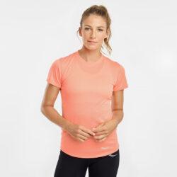 Προσφορά από το Cosmossport σε Saucony  - Saucony Stopwatch Γυναικείο T-Shirt (9000067074_008) - DealFinder.gr