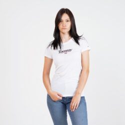 Προσφορά από το Cosmossport σε Tommy Jeans  - Tommy Jeans Essential Logo Γυναικείο T-Shirt (9000065156_1539) - DealFinder.gr