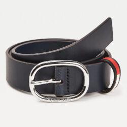Προσφορά από το Cosmossport σε Tommy Jeans  - Tommy Jeans Flag Inlay Leather Belt 3.0 (9000065041_45076) - DealFinder.gr