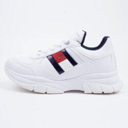 Προσφορά από το Cosmossport σε Tommy Jeans  - Tommy Jeans Low Cut Lace-Up Παιδικά Παπούτσια (9000064239_1539) - DealFinder.gr