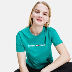 Προσφορά από το Cosmossport σε Tommy Jeans  - Tommy Jeans Modern Linear Logo Γυναικείο T-Shirt (9000065138_49129) - DealFinder.gr