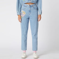 Προσφορά από το Cosmossport σε Wrangler  - Wrangler Women'S Mom Jeans (9000049801_18488) - DealFinder.gr